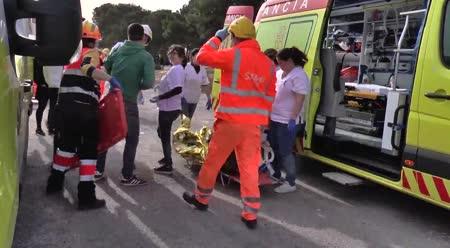 d37b6435a Simulacro accidente con múltiples víctimas en Castellón